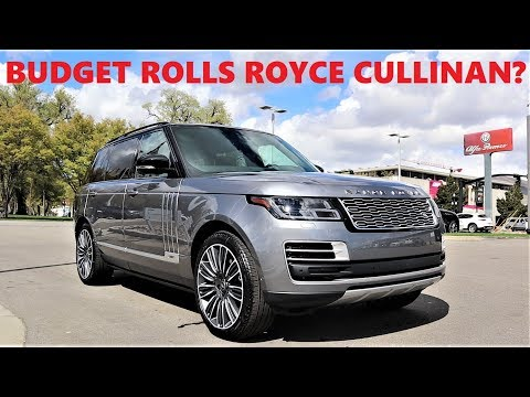2020 Land Rover Range Rover SV Autobiography: This $220,000 Range Rover Has What Crazy Features?!?