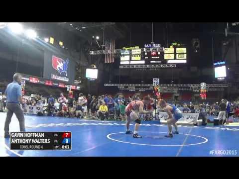 182 Cons. Round 6  Anthony Walters Pennsylvania vs. Gavin Hoffman Pennsylvania
