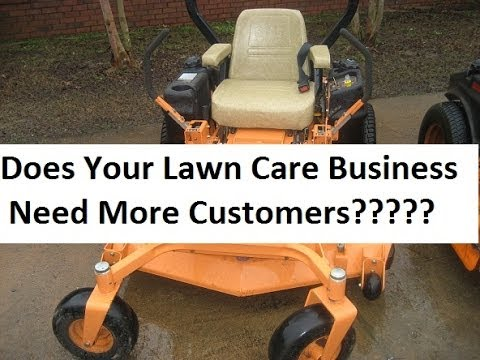 lawn care advertising ideas ma landscaping case study
