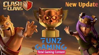 Clash Of Clans Update - Introducing Clan War Leagues - Full Update Details - Funz Gaming