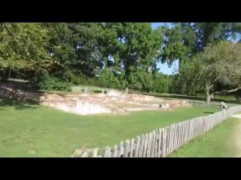 Historic Jamestown Island, Virginia - Walk Through Ruins