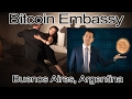 George Levy Visits Bitcoin Embassy in Buenos Aires, Argentina. [Video]