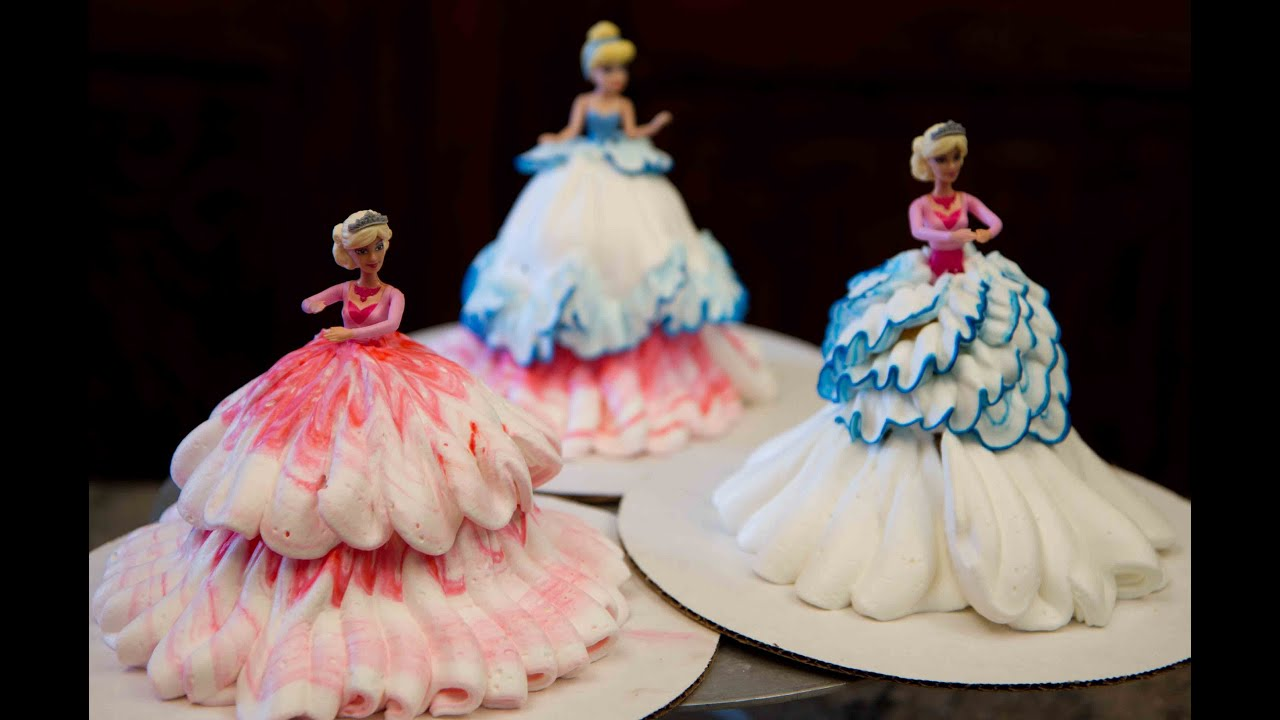 Show me how to make a barbie cake