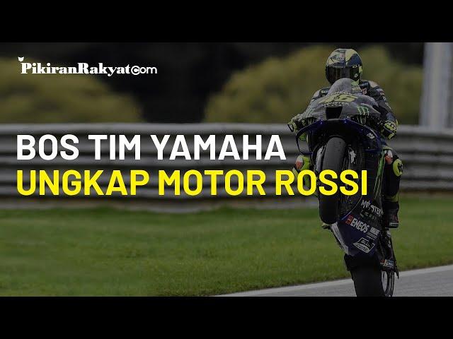 Jelang MotoGP Emilia Romagna: Bikin Cemas, Bos Monster Energy Yamaha Ungkap Motor Rossi, Sengaja?