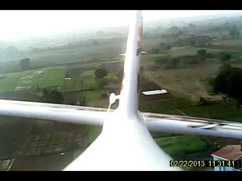 Hyderabad Model Flying onboard video recording