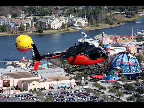 Helicopter Tour Orlando Florida 4k go pro 2017