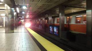subway in boston
