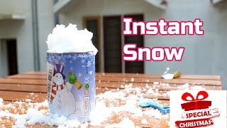 How to make Instant Snow | Christmas Special | Flopcloud