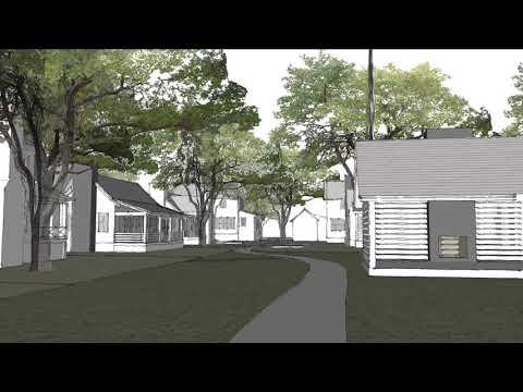 3-D conceptual architectural model