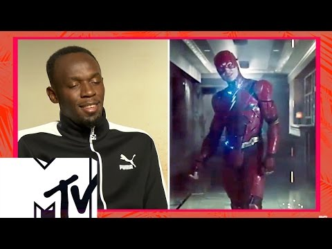 Usain Bolt Wants To Be In The Flash Movie | MTV Movies