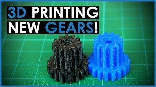 3D Printed Gear Repair with Fusion 360 - Practical 3D Printing