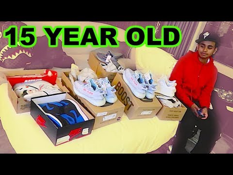 DUBAI'S RICHEST KID SPENDS $10,000 ON SNEAKERS !!!