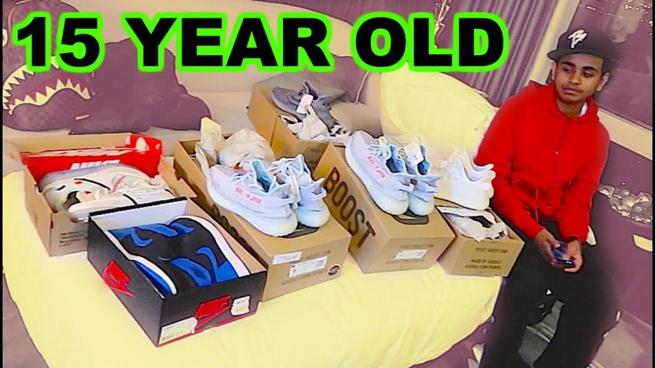 Richest Kid In Dubai >> Dubai S Richest Kid Spends 10 000 On Sneakers Youtube