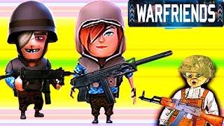 WAR FRIENDS как Pocket Troops Неудержимые #6 Сражение онлайн битва Большой выбор солдат и оружия