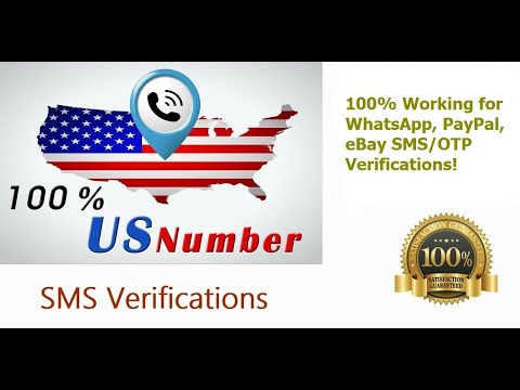 How To Get A Virtual US Phone Number. Buy US Number For SMS Verification(eBay, WhatsApp Etc)