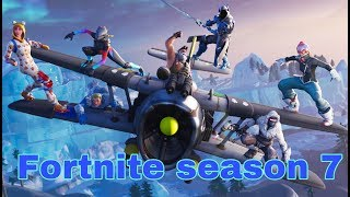 Fortnite - Checking the season 7 (Battle pass)