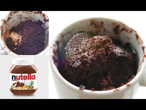 2 min. Nutella Kage