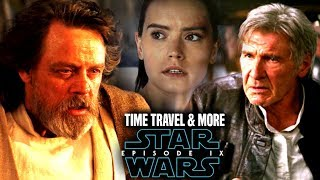 Star Wars! Time Travel To Change The Past In Episode 9! The Big Debate & More