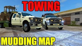 TOWING | VEHICLES IN MUD | MULTIPLAYER | LARGE EQUIPMENT