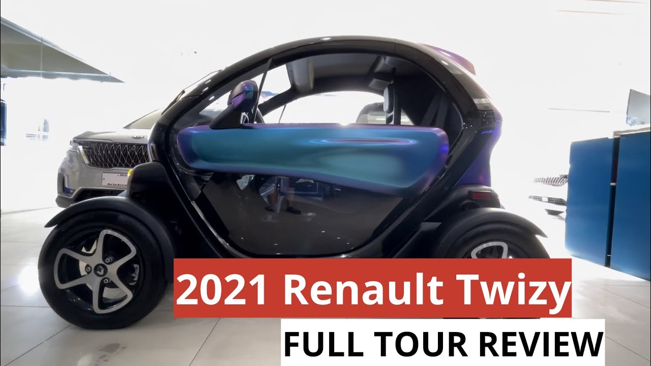 2021 Renault Twizy || FULL TOUR REVIEW & TEST DRIVE
