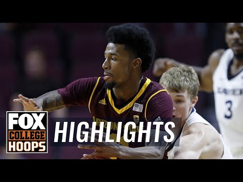 Xavier vs Arizona State   Highlights   FOX COLLEGE HOOPS