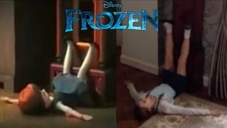 Frozen. Do You Want To Build A Snowman? Cover Music Video.