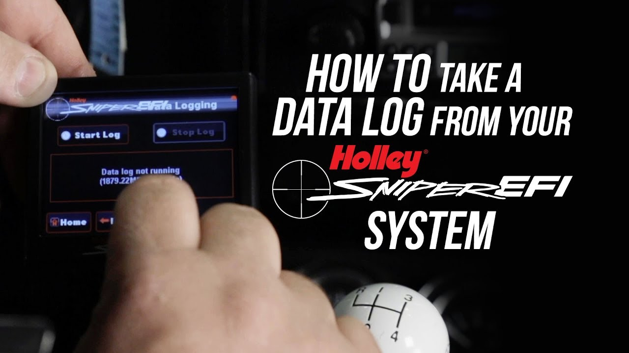 How To Take A Data Log From Your Sniper EFI System