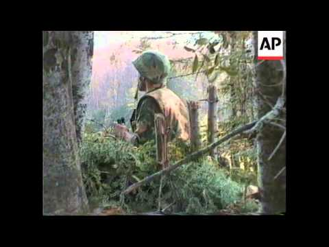 BOSNIA: FIGHTING INTENSIFIES ALONG THE POSAVINA CORRIDOR