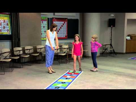 The Math & Movement Numberline 1-20