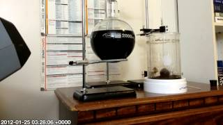 Siphon Brewing Apparatus (Home made coffee maker from lab equipment) How to make the best coffee