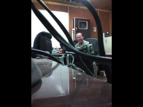 Air Force Karaoke in Iraq