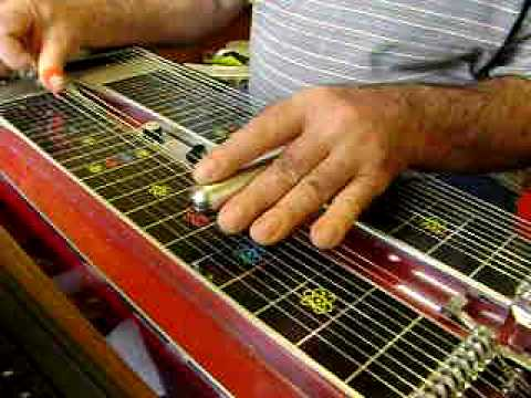 Break For Country Gold Pedal Steel Guitar