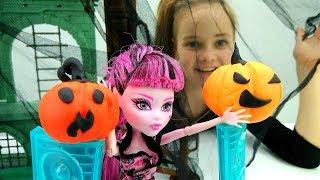 Монстр Хай -  Куклы празднуют Хэллоуин - Видео для девочек