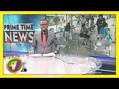 Jamaican Teachers Low Vaccination Turn Out   TVJ News - May 8 2021