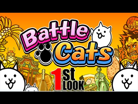 Battle Cats | Cute Tower defense with a really WEIRD twist !! (1st Look Gameplay)