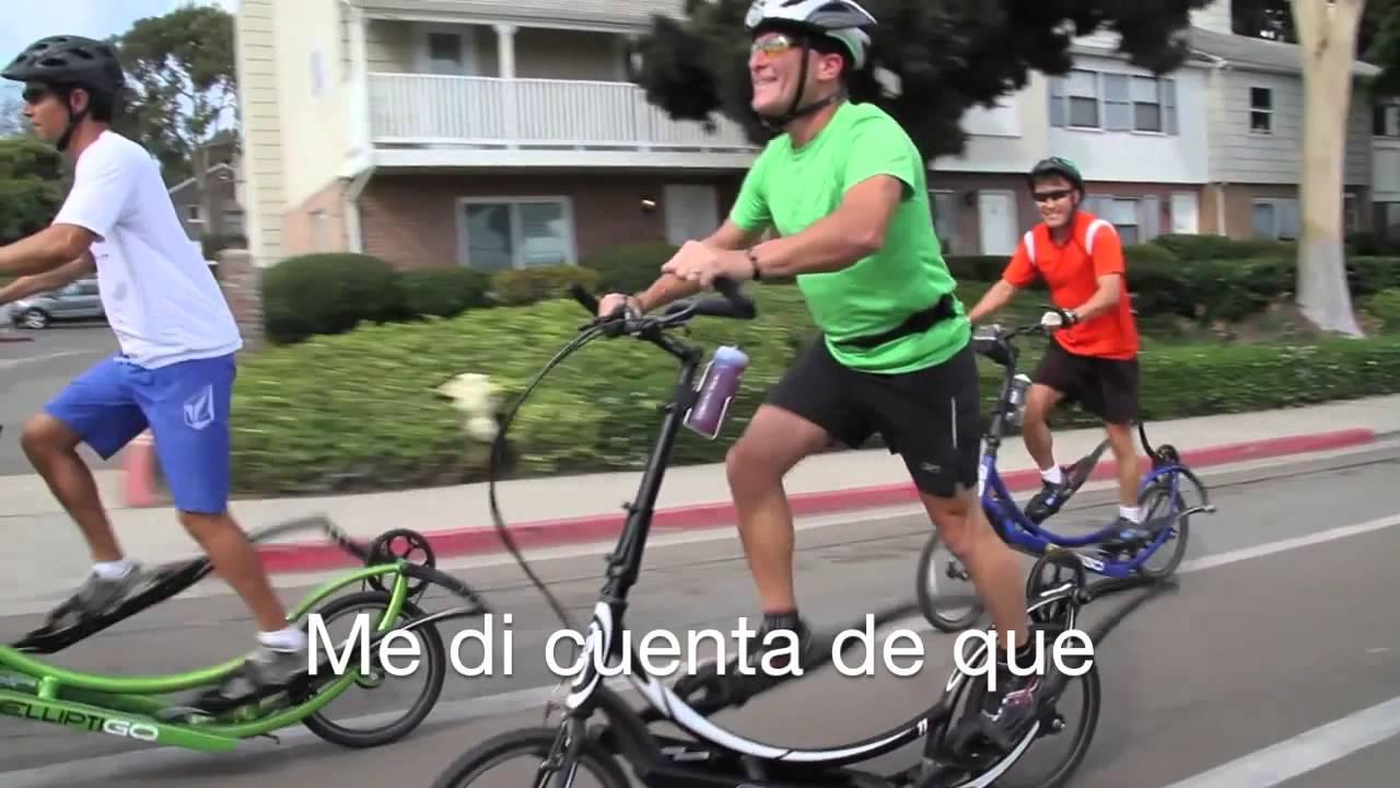 Elliptigo la bicicleta el ptica para apasionados del fitness youtube - Beneficios de la bici eliptica ...