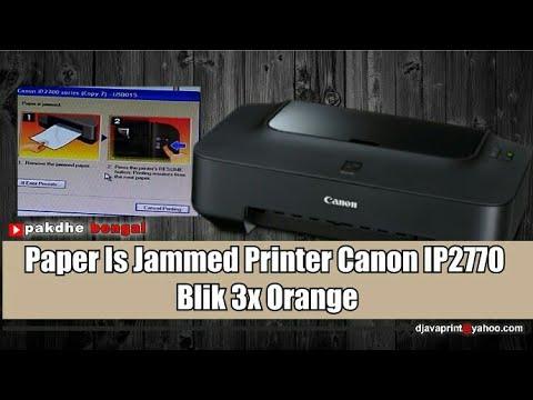 Error 6000 printer ip2770 kedip 3 kali bergantian Video ini menenangkan tentang cara mengatasi print.