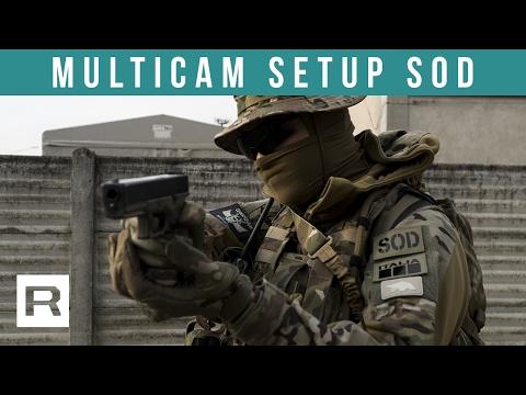 Multicam Combat Setup - S.O.D. Gear | Sub ENG