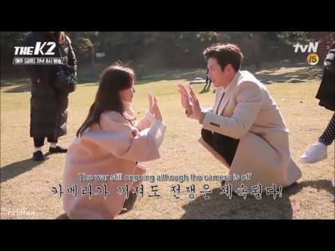 [The K2 MV] Behind The Scenes - Ji Chang Wook & Im Yoona moments