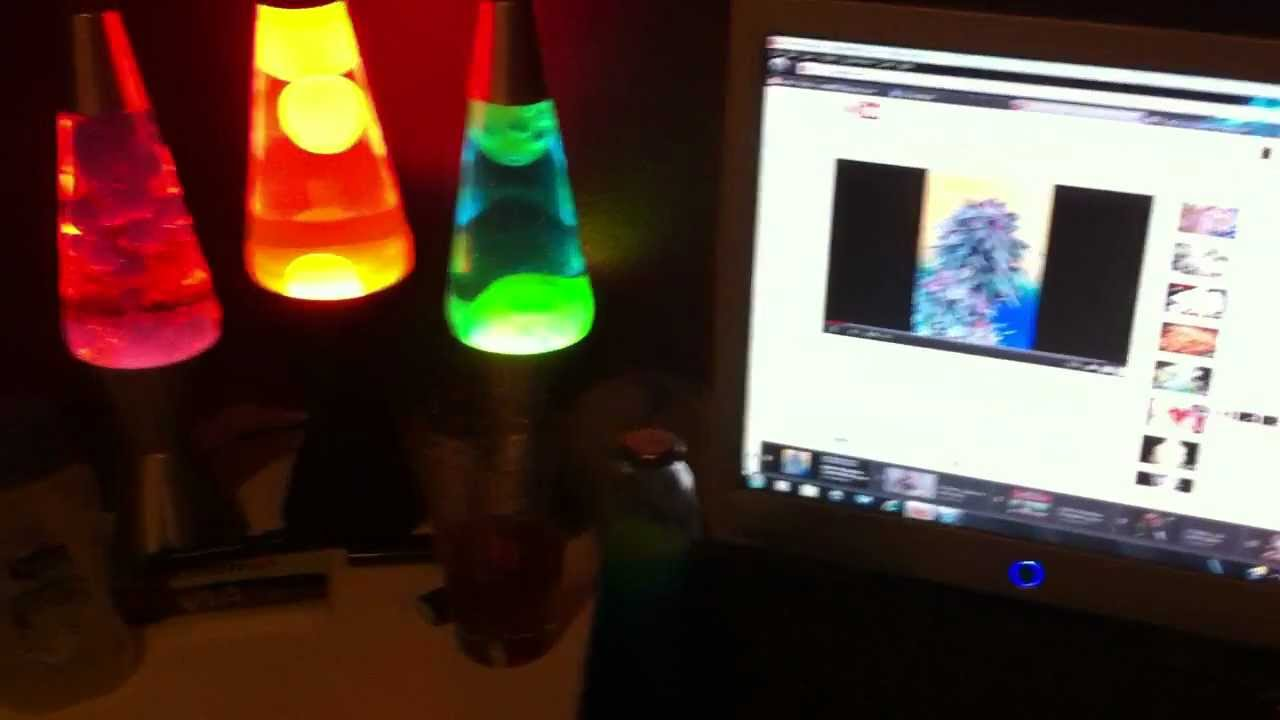 How to fix a lava lamp