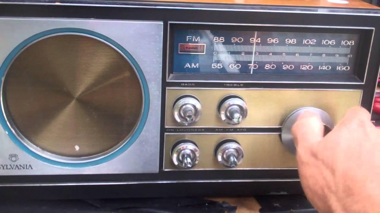 Sylvania 1967 Table Radio Rm300r Solid State Youtube. Sylvania 1967 Table Radio Rm300r Solid State. Wiring. Sylvania Tube Radio Schematics At Scoala.co
