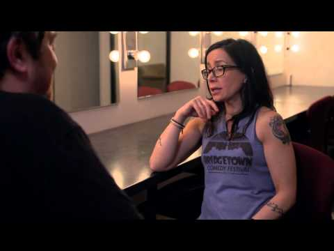 Janeane Garofalo talks about Gary Shandling - Inside Joke from Moontower Comedy Festival in Austin
