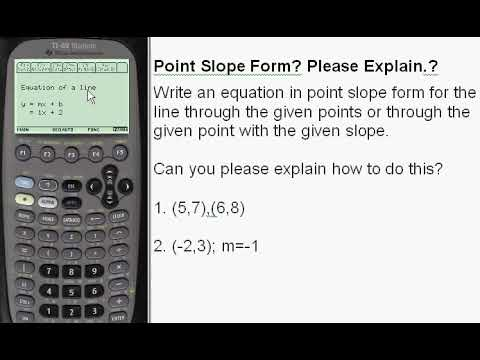point slope form calculator with steps  Point Slope Form Calculator-Every Step Calculus