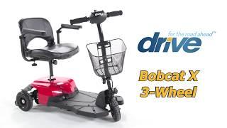 Bobcat X 3-Wheel Transportable Scooter