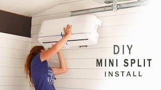[9.01 MB] DIY Ductless Mini Split Install - MrCool Unit