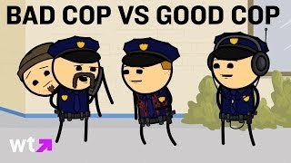 Cyanide & Happiness Play Good/Bad Cop In Interrogation | What's Trending Now