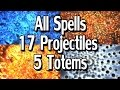 Path of Exile 2.4 - All Projectile Spells with 5 Totems & 17 Projectiles | 12 Gems + MTX's