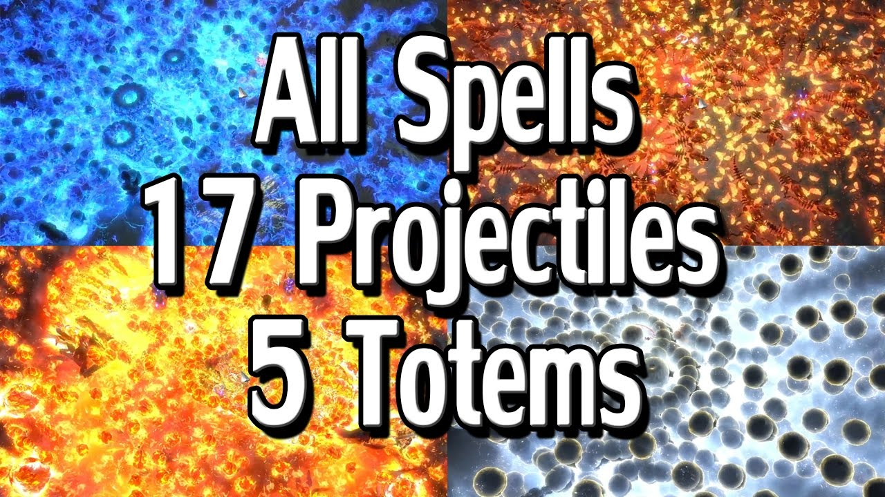 path of exile 2 4 all projectile spells with 5 totems 17