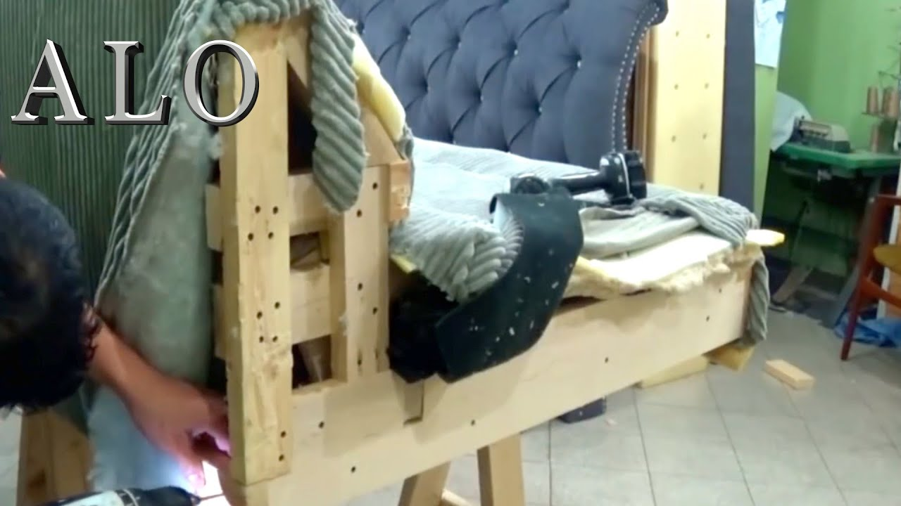 HOW TO MAKE A REMOVABLE ARM ON A SOFA ALO Upholstery