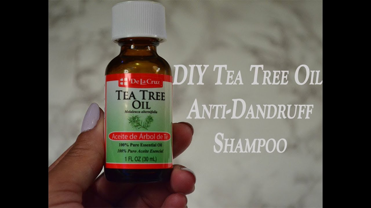 Natural Peppermint and Tea Tree Shampoo